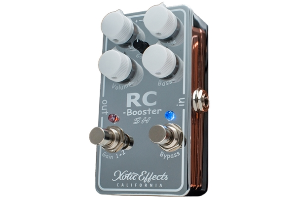 Xotic Effects - RC-Booster Scott Henderson Chrome