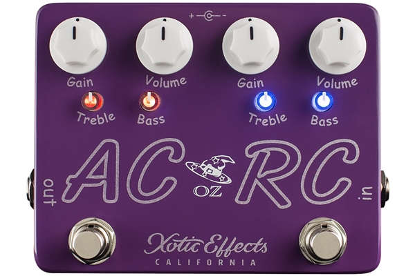Xotic Effects - AC/RC-OZ Booster Overdrive Oz Noy Limited Edition