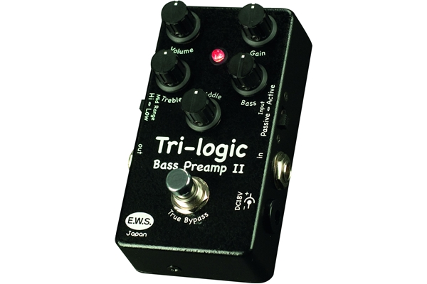 Ews - Tri-logic Bass Preamp 2