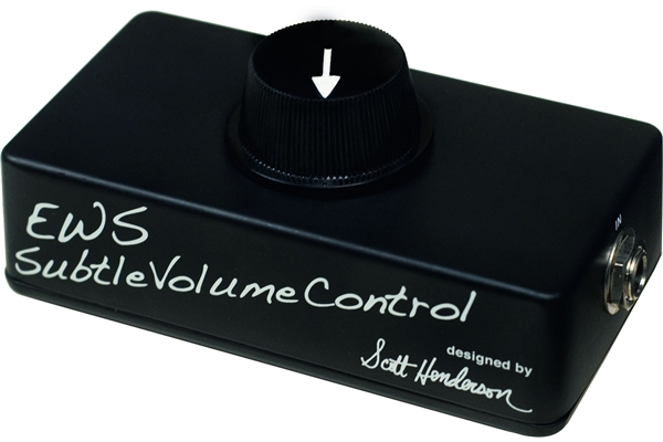 Ews - SVC (Subtle Volume Control) designed by Scott Henderson