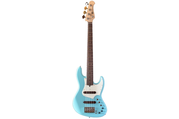 Xotic Bassi - XJ1T 5 Corde Ontano/Palissandro Sonic Blue