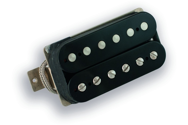 Raw - RV-5760-NA Open Black - - Ponte (non-aged) - Non anticato - Spaziatura Gibson (49.2mm)