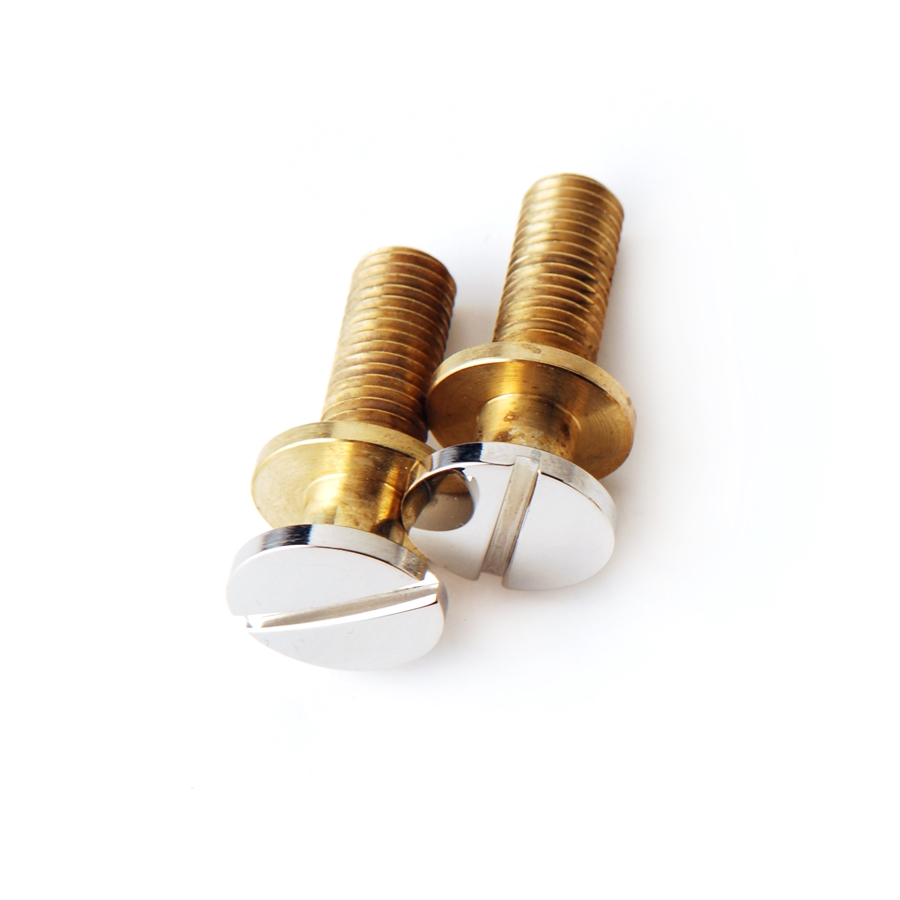 ACC-4030 Stoptail Bridge Studs (2), Nickel