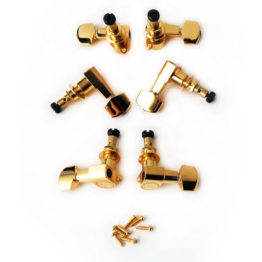 ACC-4338 Phase II Locking Tuners GOLD (SET 6)