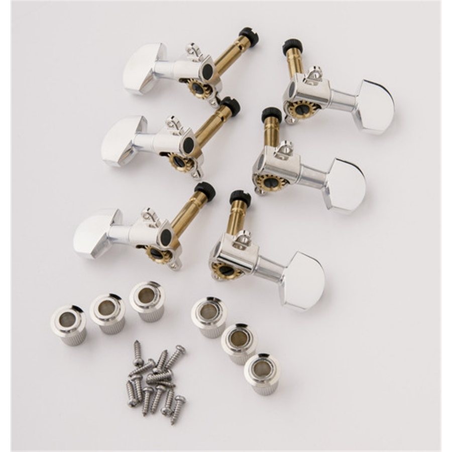 ACC-4363S-N Phase III Lock tuners Nickel (Set 6)