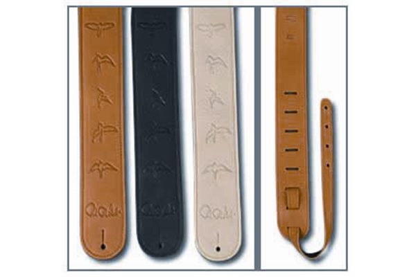 PRS - ACC-3112-TN Strap, Tan Leather Birds