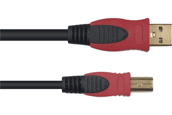 Yellow Cable - N01-5 Cavo USB A Maschio/B Maschio 5 m