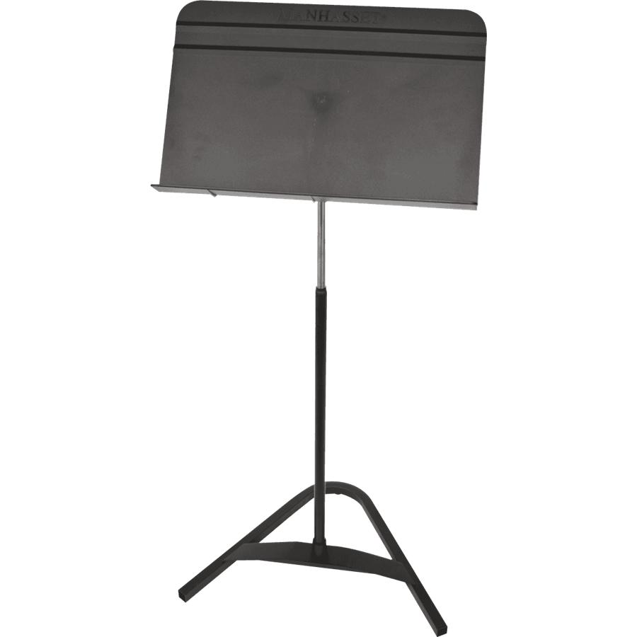 Manhasset 8101 - Leggio da orchestra nero base piatta