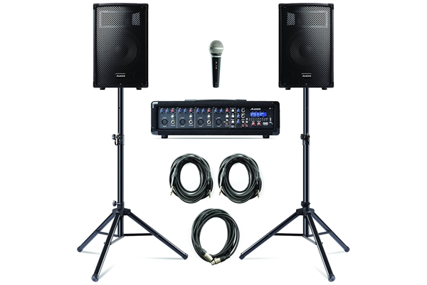 Alesis - PA SYSTEM WITH STANDS