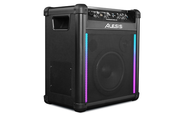 Alesis - TransActive VU: sistema di amplificazione all-in-one da 50W con LED RGB