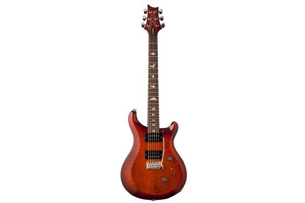 PRS - S2 CUSTOM 22 Birds Dark Cherry Sunburst