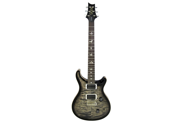 PRS - CUSTOM 24 10Top Birds Tremolo 5 vie Charcoal Burst, Pattern Thin 85/15