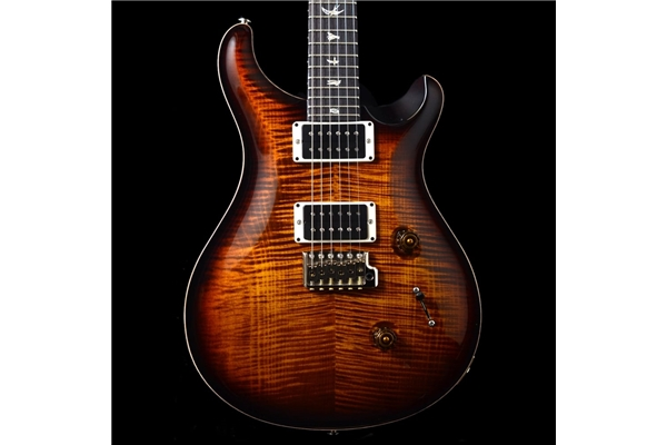 PRS - CUSTOM 24 Birds tremolo 5 vie BlackGoldBurst Pattern Thin 85/15