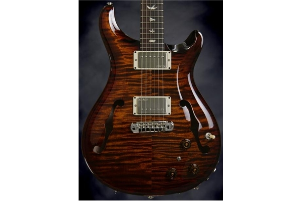 PRS - HOLLOWBODY II 10Top Birds Piezo BlackGoldBurst