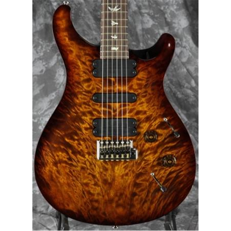 513 Quilt Top Black Gold Burst