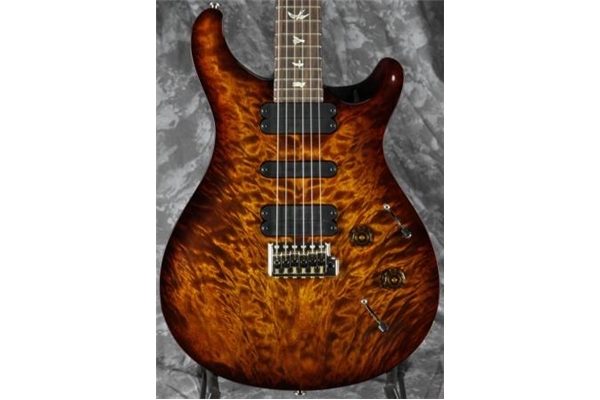 PRS - 513 Quilt Top Black Gold Burst