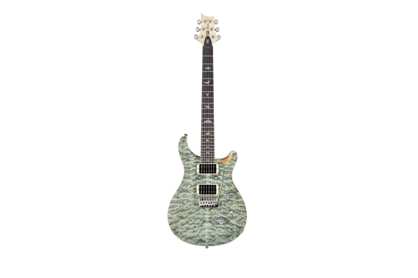 PRS - SE CUSTOM 24 Birds tremolo 3 vie Trampas Green