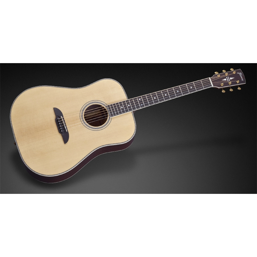 FD28 N SR E Nashville Dreadnought Eq Natural Vintage Satin