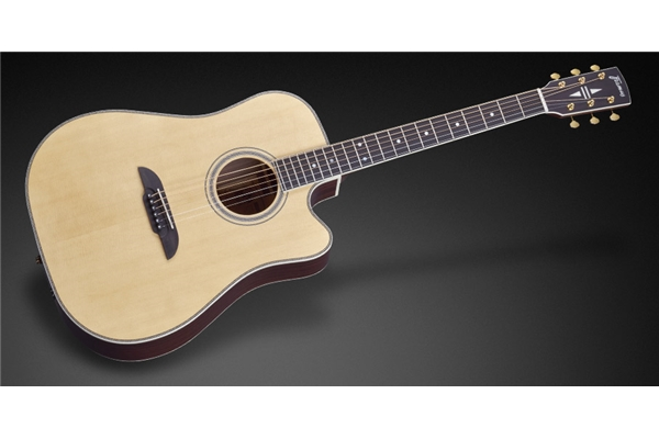Framus - FD28 N SR CE Nashville Dreadnought Cutaway Eq Natural Vintage Satin