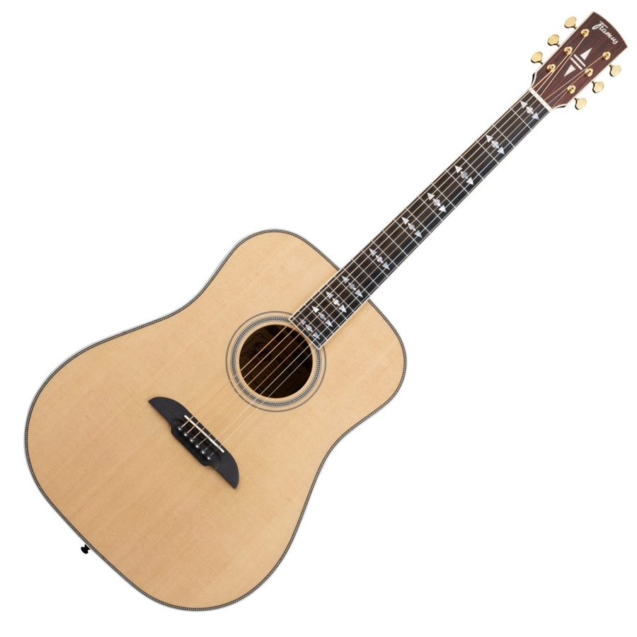 FD28 SR Dreadnought Natural Vintage High Polish