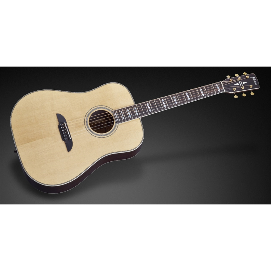 FD28 JN SR Dreadnought Natural Vintage High Polish