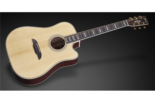 Framus - FD28 JN SR CE Dreadnought Cutaway Eq Natural Vintage High Polish