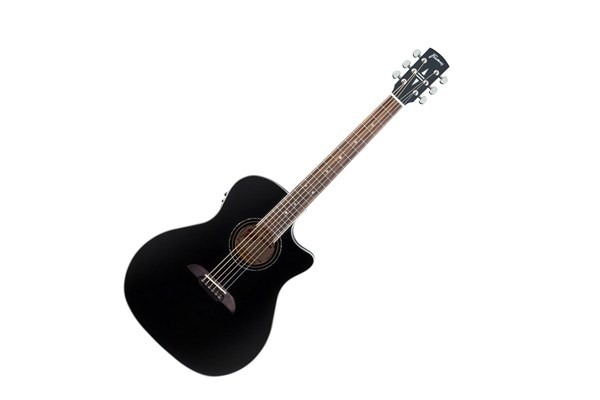 Framus - FG14 S BK CE GrandAuditorium Cutaway Eq Black High Polish