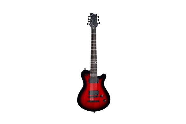 Framus - Panthera Pro 7 Burgundy Blackburst High Polish 7 Corde