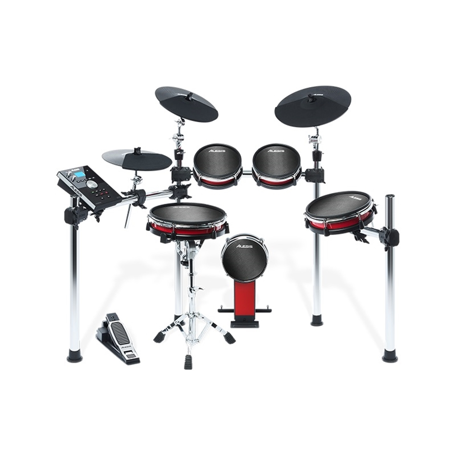 CRIMSON MESH KIT: BATTERIA ELETTRONICA COMPLETA CON 5 PAD MESH HEAD