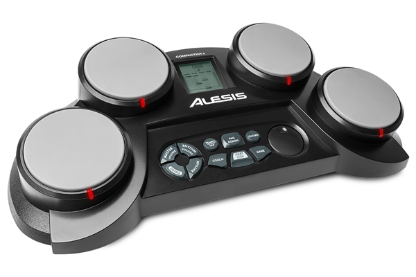 Alesis - COMPACTKIT 4: PERCUSSIONE ELETTRONICA ENTRY LEVEL DA TAVOLO A 4 PAD