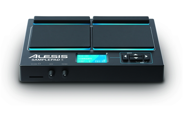 Alesis - SAMPLEPAD 4: PERCUSSIONE ELETTRONICA E SAMPLE PLAYER A 4 PAD