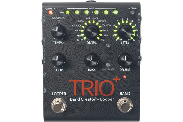 Digitech - TRIO+ Band Creator e Looper