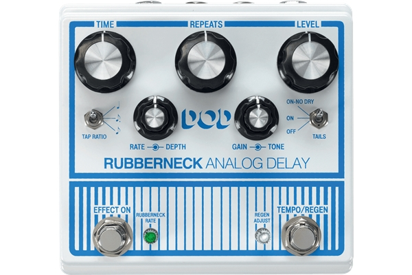 Digitech - DOD Rubberneck Delay Analogico