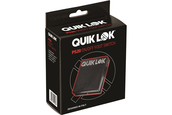 Quik Lok - PS/20 Pedale di controllo ad interruttore On/Off
