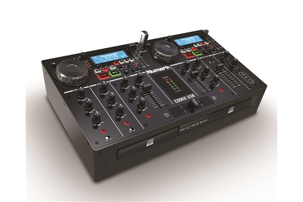 Numark - CDMIX USB: CONSOLE ALL-IN-ONE PER RIPRODURRE FILE MP3 e CD AUDIO