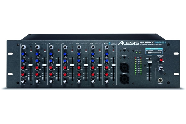Alesis - MULTIMIX10 WIRELESS - MIXER 7 CANALI CON BLUETOOTH