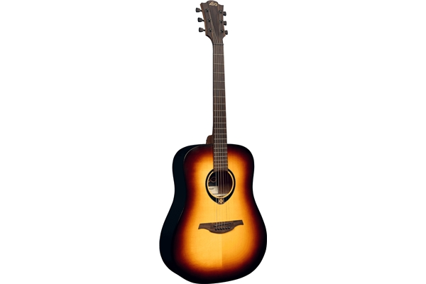 Lag - T70D Dreadnought Brown Burst