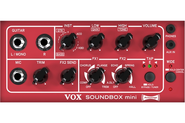 Vox - SOUNDBOX Mini Black