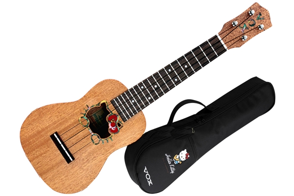 Vox - VU-33HK-NA-MG Ukulele Hello Kitty Limited Edition
