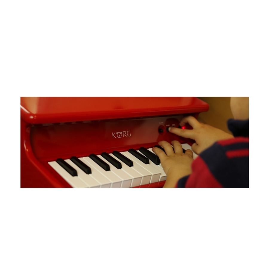 tinyPIANO Digital Toy Piano nero