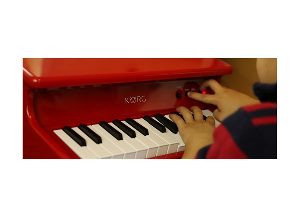 Korg - tinyPIANO Digital Toy Piano rosa