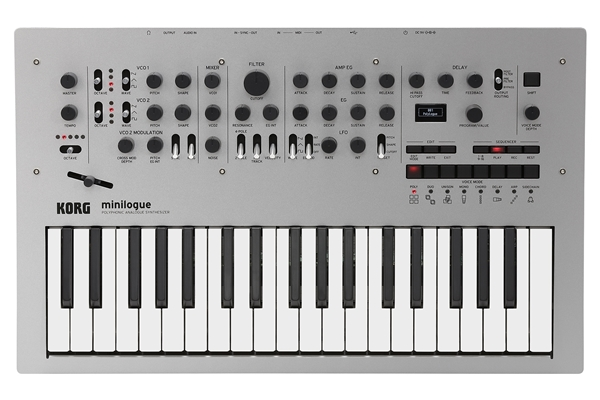 KORG - minilogue - Polyphonic Analogue Synthesizer
