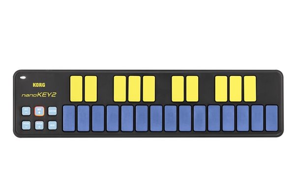 Korg - NANOKEY2-Blue/Yellow