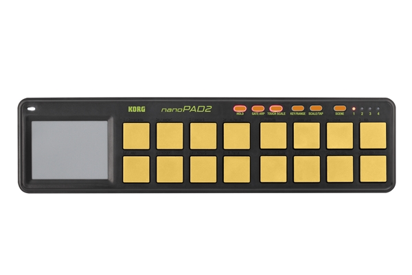 Korg - NANOPAD2-Orange/Green