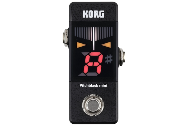 KORG - Pitchblack mini - Accordatore a pedale nero