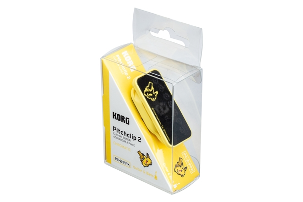 Korg - PITCHCLIP2 PC-2-PPK PIKACHU Yellow