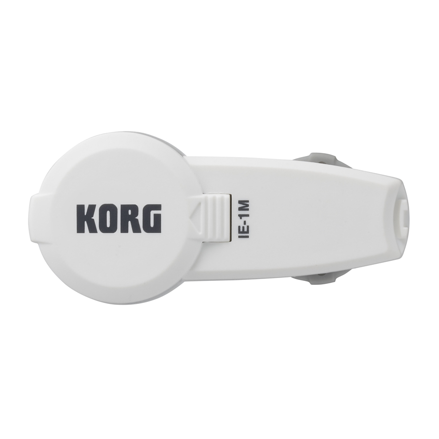 Korg In-EarMetronome - Metronomo Auricolare IE-1M