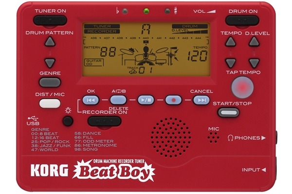 Korg - Beat Boy - Drum Machine- Recorder - Accordatore