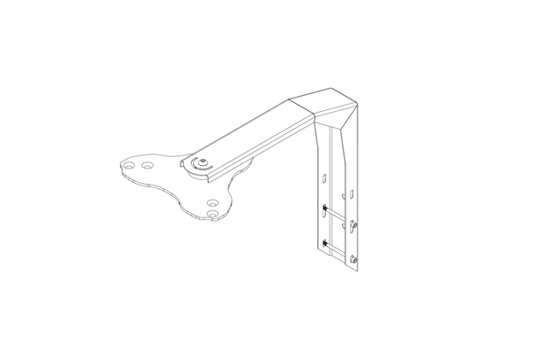 Montarbo - BRACKET WINDPRO 208/210 TOP