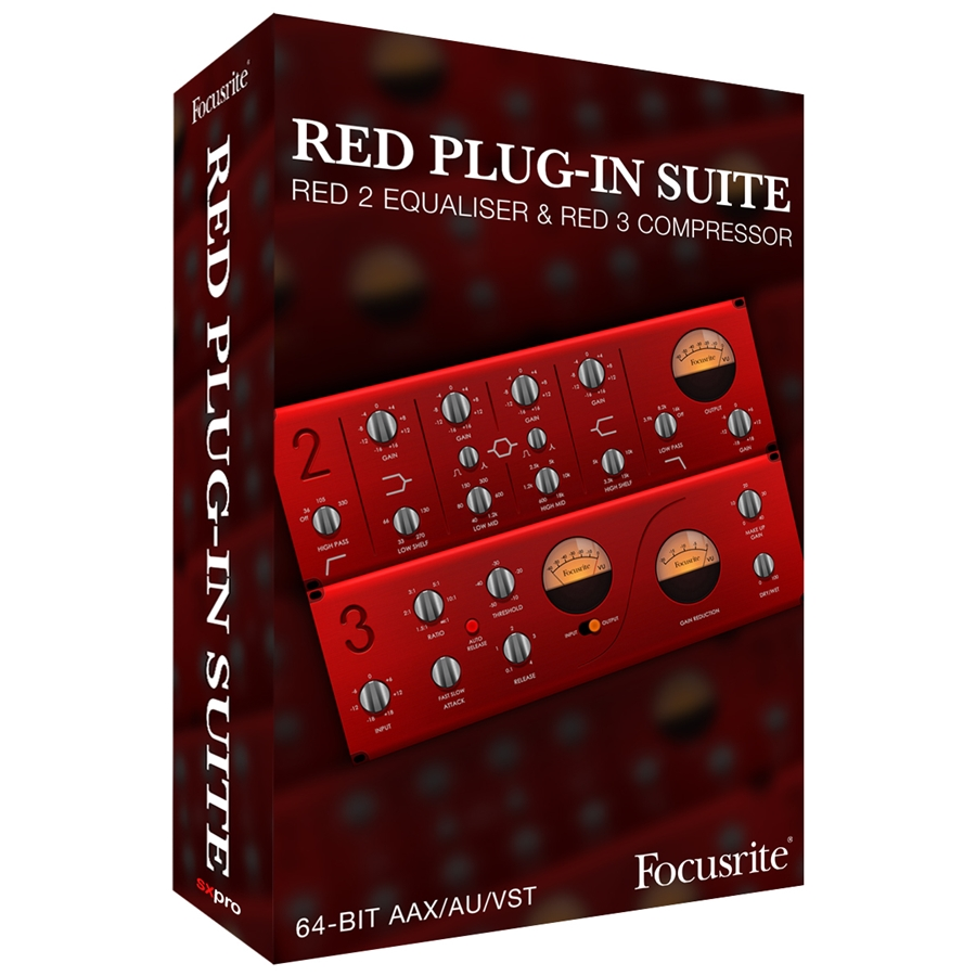 Suite Plug-In Red 2